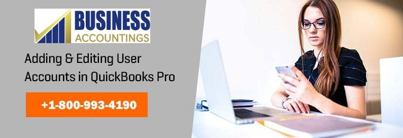 Adding and Editing User Account in Quickbooks Pro