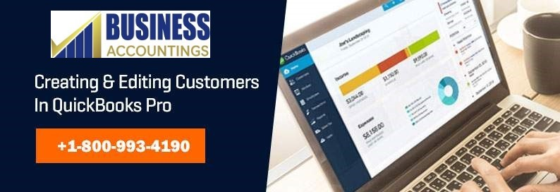 Creating and Editing Customers in Quickbooks Pro