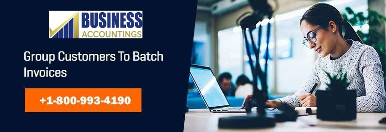 Group Customers to Batch Invoices
