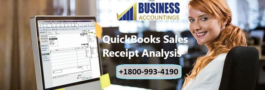 QuickBooks Sales Receipt Analysis
