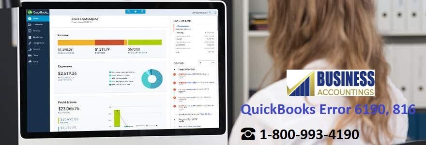 How to Fix QuickBooks Error 6190, 816