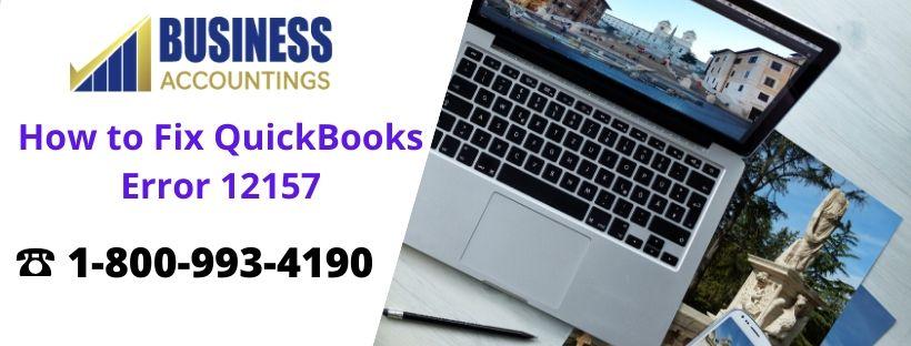 How to Fix QuickBooks Error 12157
