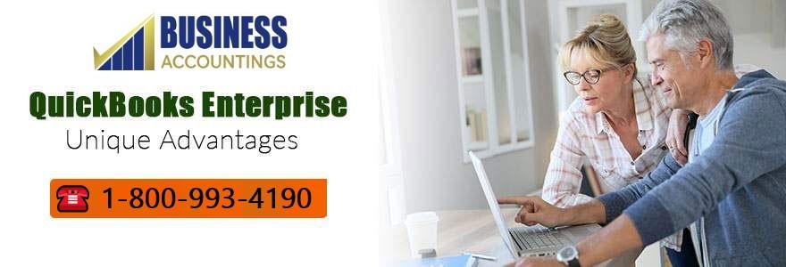 Unique Advantages of QuickBooks Enterprise