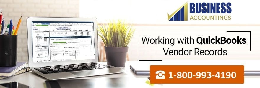Working with QuickBooks' Vendor Records