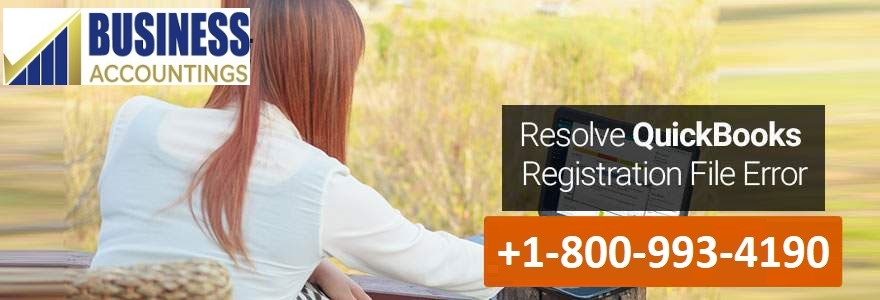 Resolving QuickBooks Registration File Error