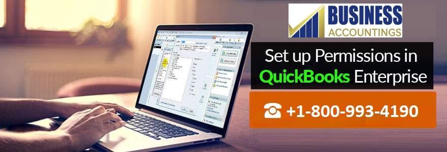 Set up Permissions in QuickBooks Enterprise