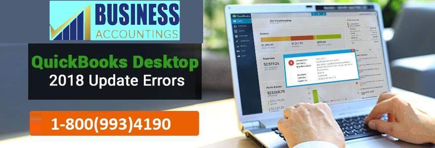 QuickBooks Desktop 2018 Update Errors