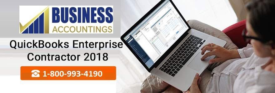 QuickBooks Enterprise Contractor 2018