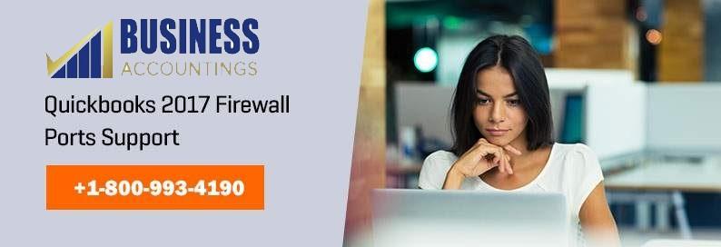 Quickbooks 2017 Firewall Ports Support
