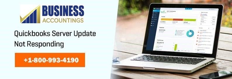 Quickbooks Server Update Not Responding