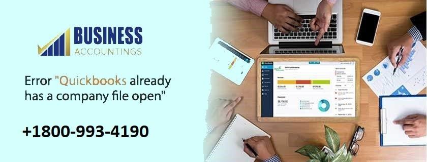 QuickBooks Already has a Company File Open