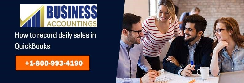 How to Record Daily Sales in QuickBooks?