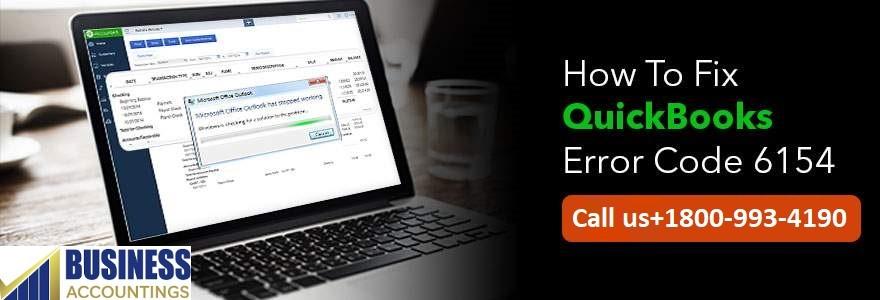 Fix QuickBooks Error Code 6154
