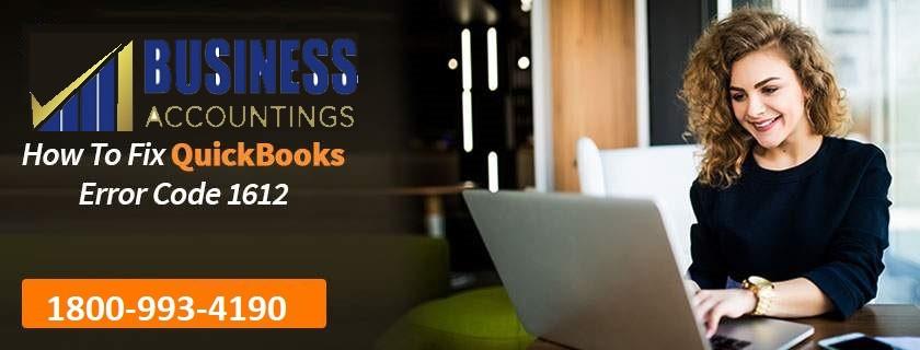 Fix QuickBooks Error Code 1612
