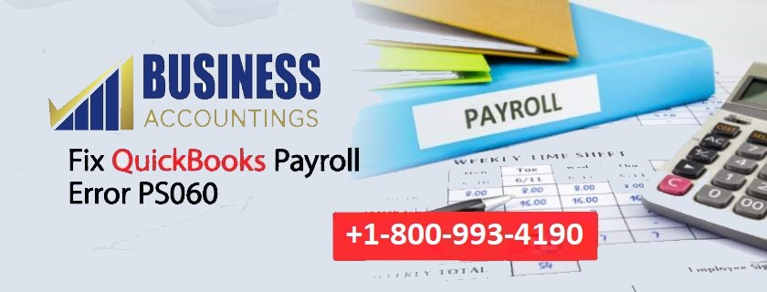 QuickBooks Payroll Error PS060