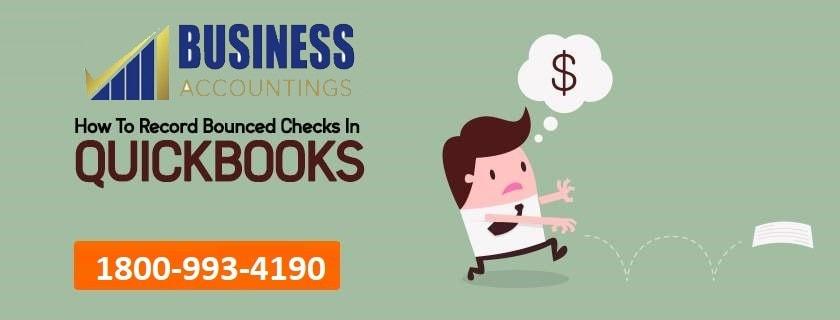 Record Bounced Check in QuickBooks