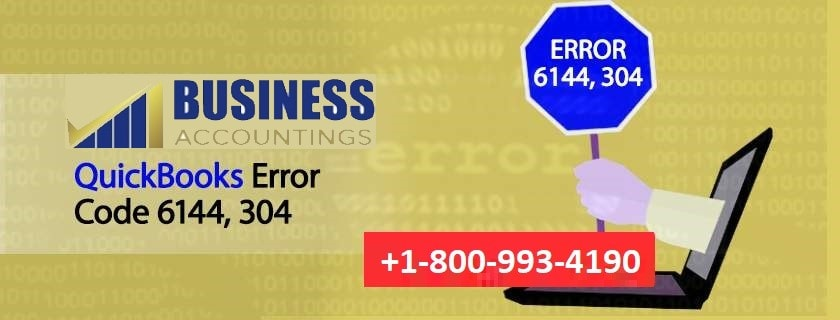 QuickBooks Error Code 6144, 304