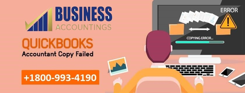 QuickBooks Accountant Copy Failed