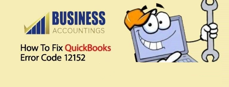 What Does QuickBooks Error Code 12152 Mean