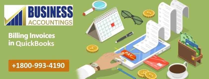 Billing Invoices in QuickBooks