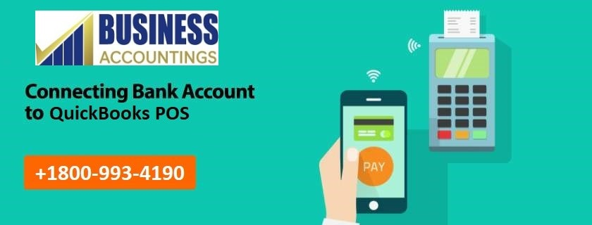 Connecting Bank account to QuickBooks POS