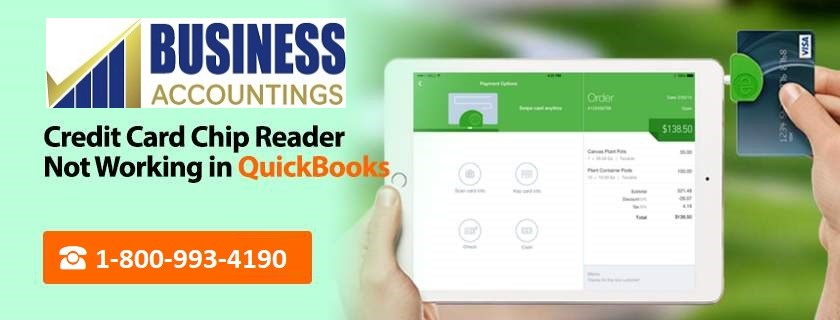 Credit Card Chip Reader Not Working in QuickBooks