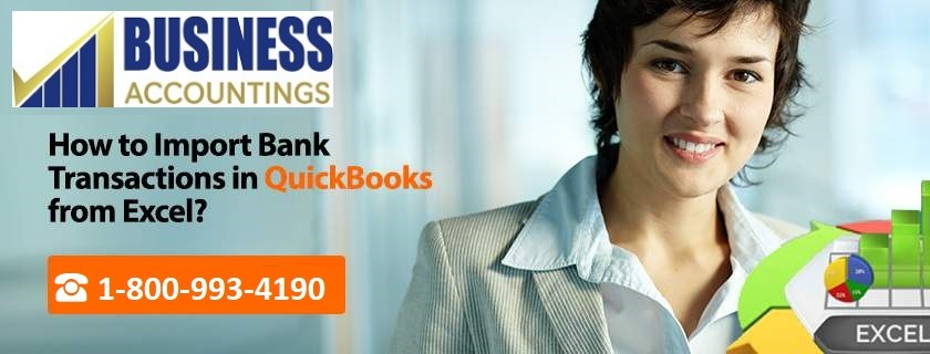 Import Bank Transactions into QuickBooks from Excel