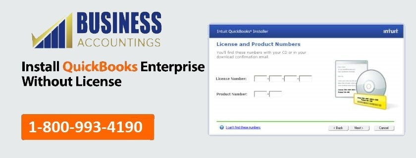 Install QuickBooks Enterprise without license