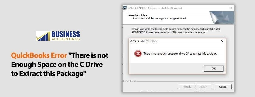 QuickBooks-Error-There-is-not-enough-space-on-the-c-drive-to-extract-this-package