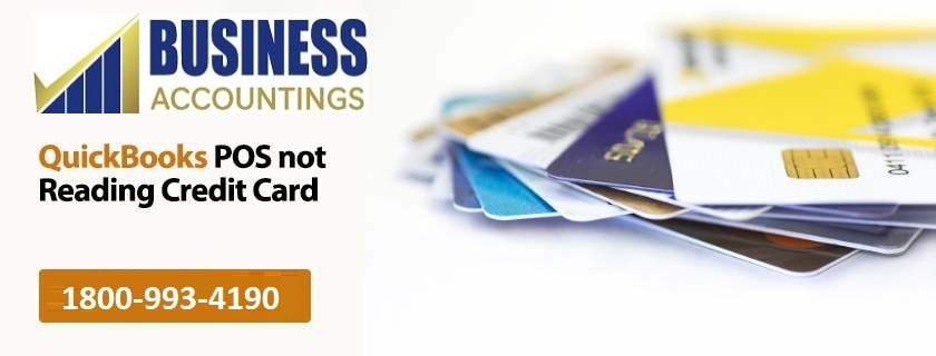 QuickBooks POS not reading Credit card