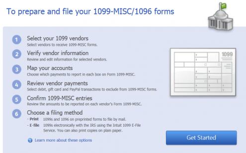 Set up Vendors to get 1099-MISC in QuickBooks