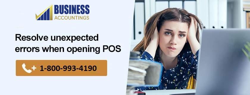 Error initializing QBPOS application log