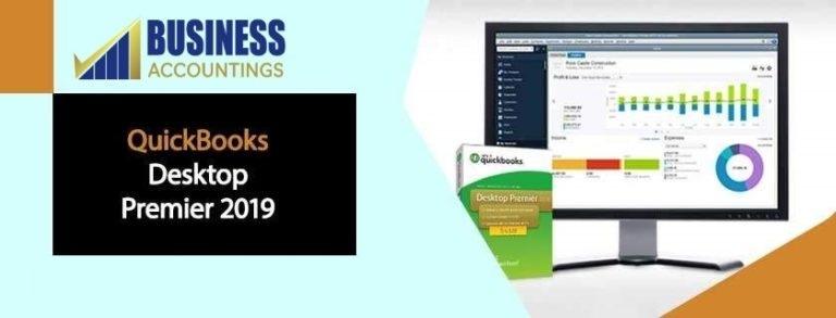 QuickBooks Desktop Premier 2019