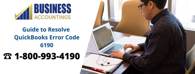Guide to Resolve QuickBooks Error Code 6190
