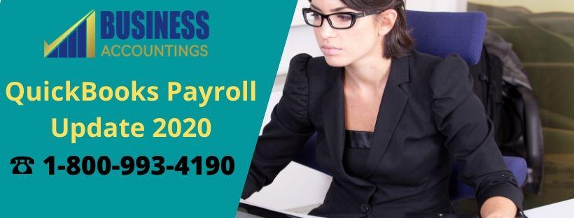 QuickBooks Payroll Update 2020