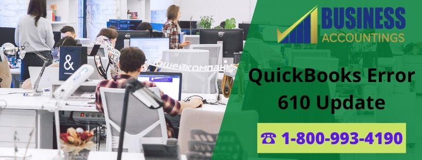 QuickBooks Error 610