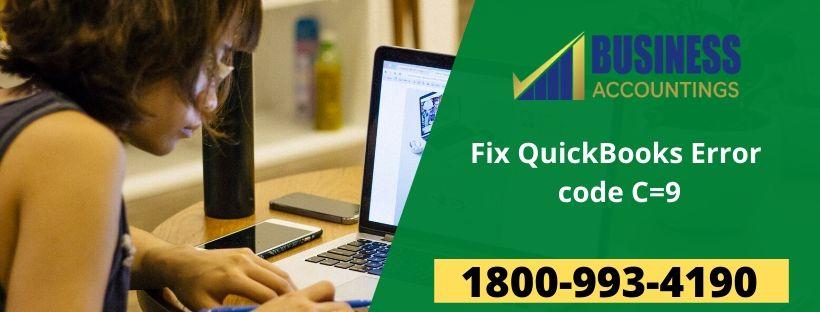 QuickBooks Error code C=9