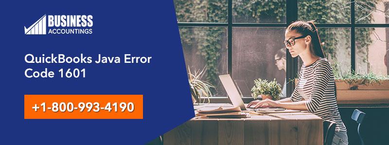 QuickBooks Java Install Error 1601