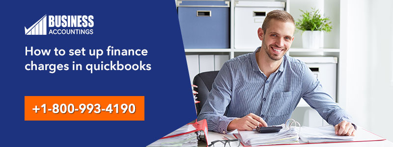 How to set up finance charges in quickbooks
