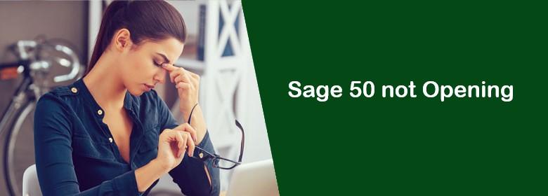 Sage-50-not-opening