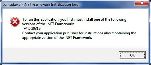 sage accounts net-framework-error