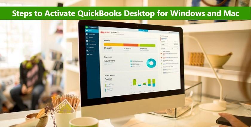 Activate QuickBooks Desktop for Windows and Mac