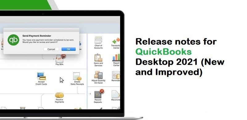 Release notes for QuickBooks Desktop 2021