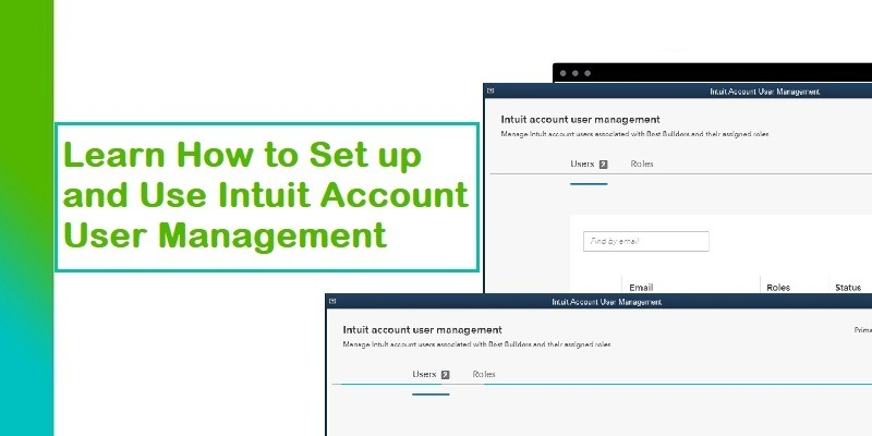 Set up and Use Intuit Account User Management