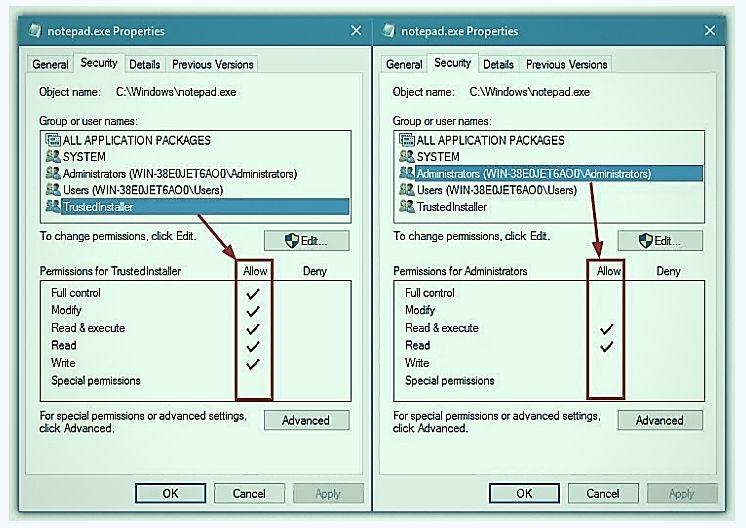Update your Windows Permissions No 3