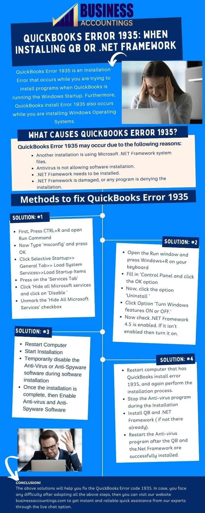 QuickBooks Error code 1935